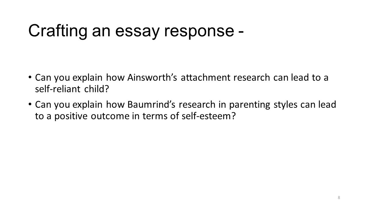adolescence and morality ppt  crafting an essay response