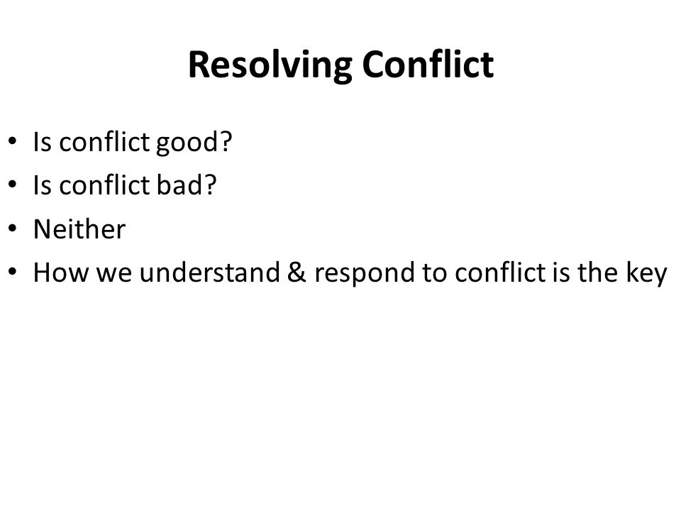 conflict good bad essay Conflict essay also suggests how to resolve conflicts and have a congenial choosing bookwormlabcom for an academic assistance is a good call any way you slice.