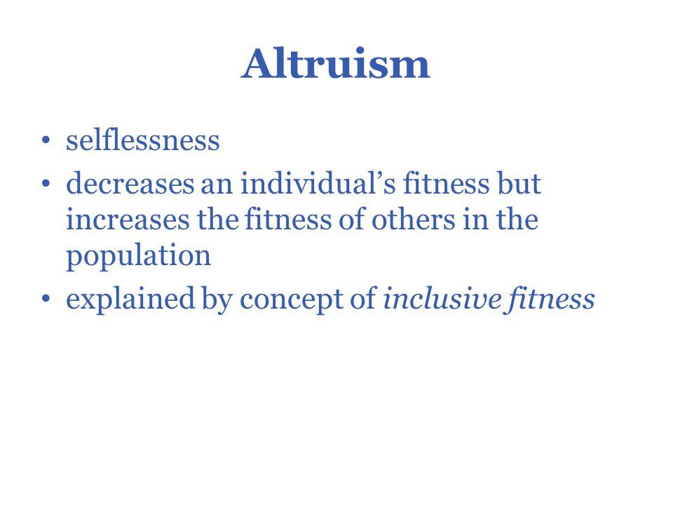 Natural Selection And Reciprical Altruism