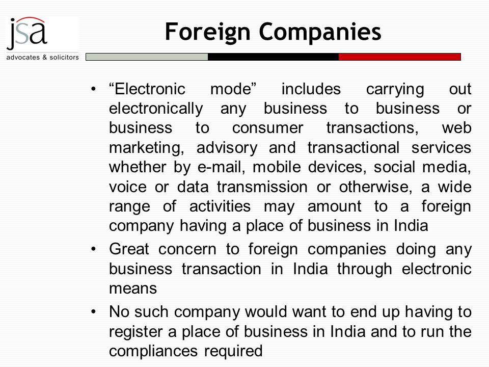 foreign companies in india Q: what challenges do foreign companies face in entering the indian market  some companies, just because of their name, appear alien to.
