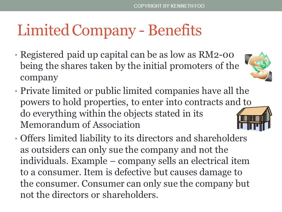 Limited Company - Benefits