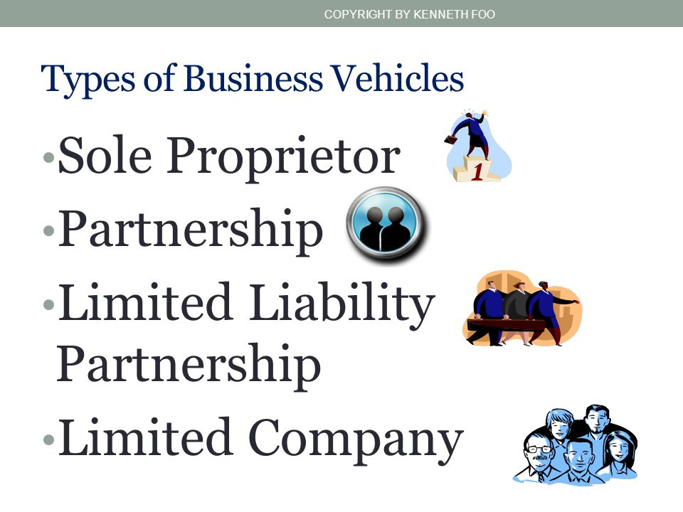 Types of Business Vehicles