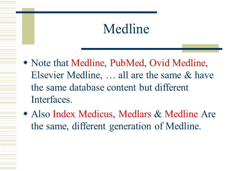 medline research paper
