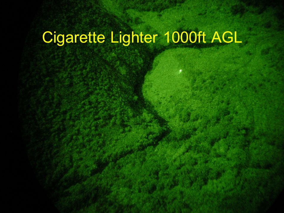 Cigarette Lighter 1000ft AGL