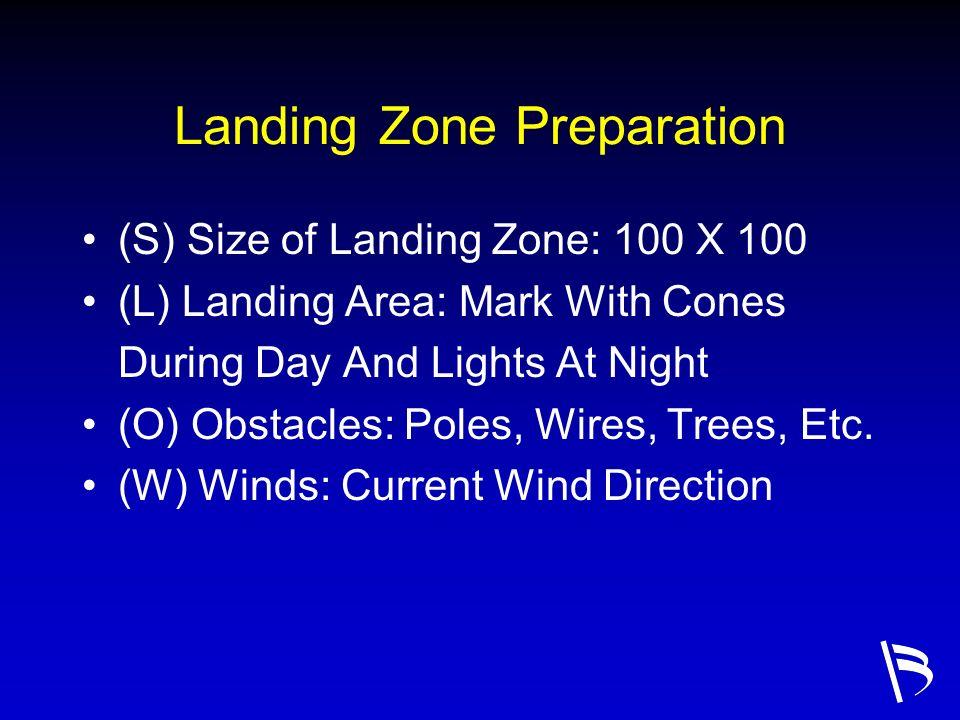 Landing Zone Preparation