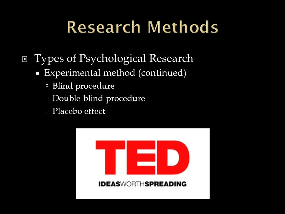 research methods of psycho