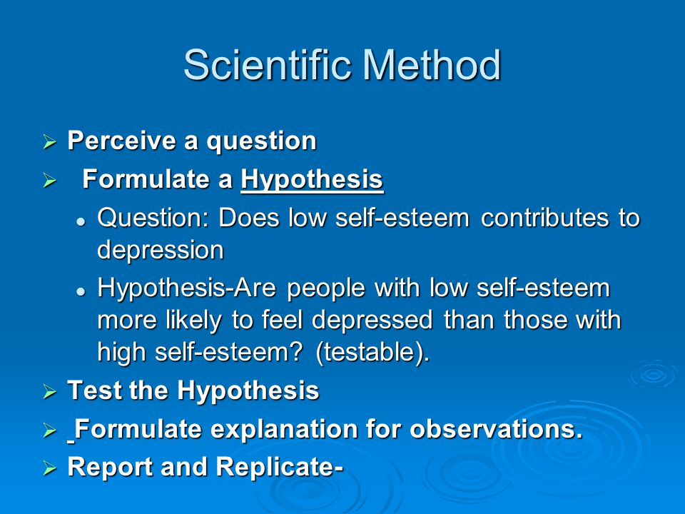 Write a hypothesis for research paper