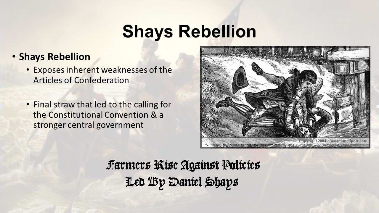 shays rebellion essay What were the issues that led to shays rebellion could the rebellion have been dealt with differently by authorities if so how why did the rebellion frighten the.