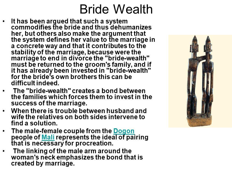 Bride Wealth