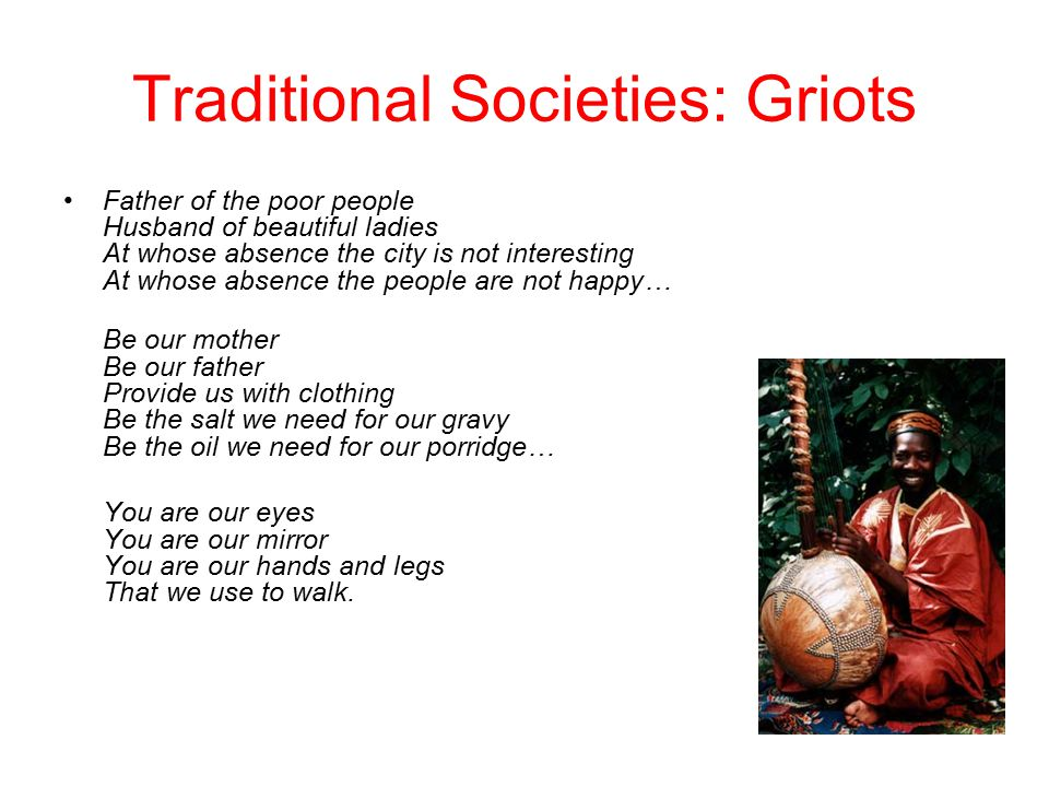traditional african society essay