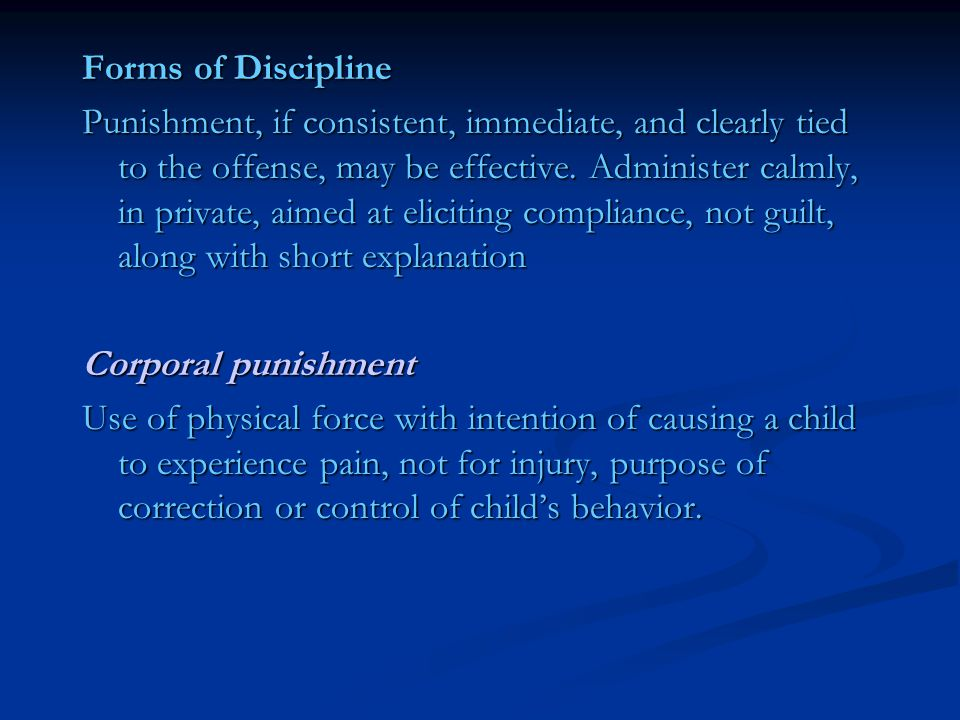 """corporal punishment physical force causing pain Under human-rights law, corporal punishment is described as, """"any punishment in which physical force is used and intended to cause some degree of pain or discomfort"""" (qtd in stephey) debates and discussions on this topic arise regularly."""