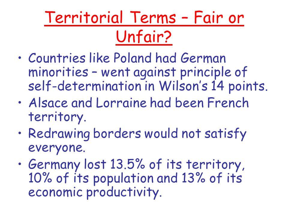treaty of versailles fair or unfair essay By james j atkinson europe between the wars dr julián casanova university  of notre dame 16 december 2002 world war i had brought about.