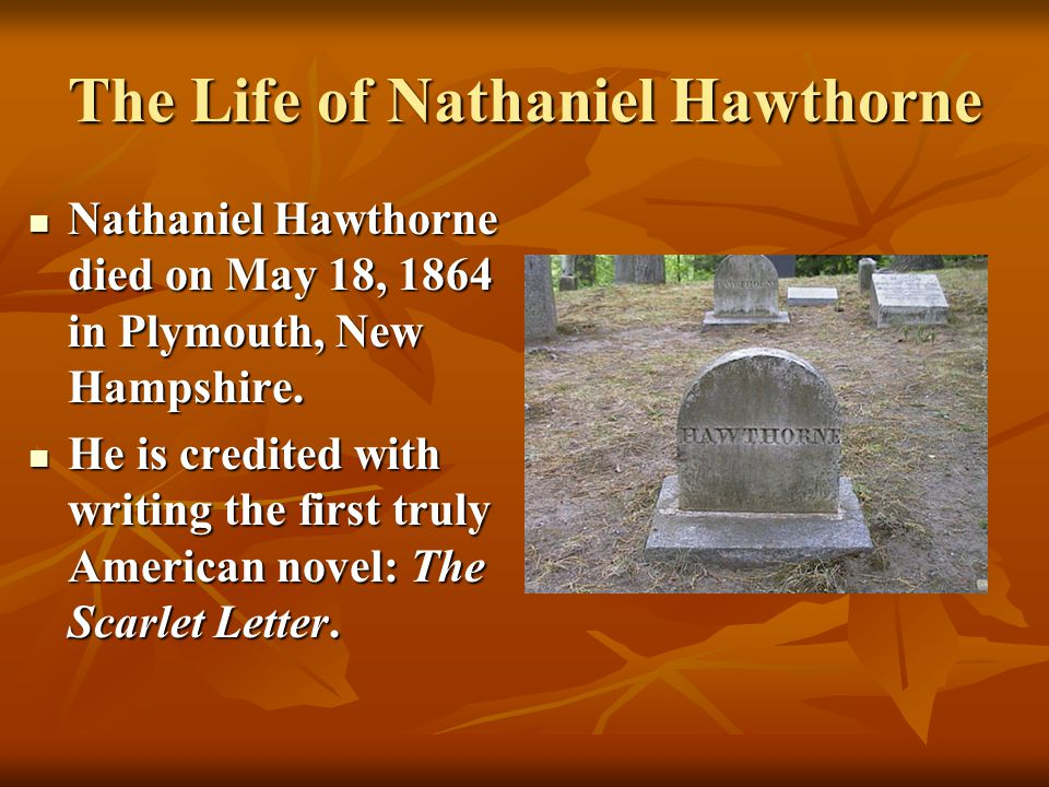 the recurring themes and symbols in the works of nathaniel hawthorne The scarlet letter study guide contains a biography of nathaniel hawthorne, literature essays, a complete e-text, quiz questions, major themes, characters, and a full.