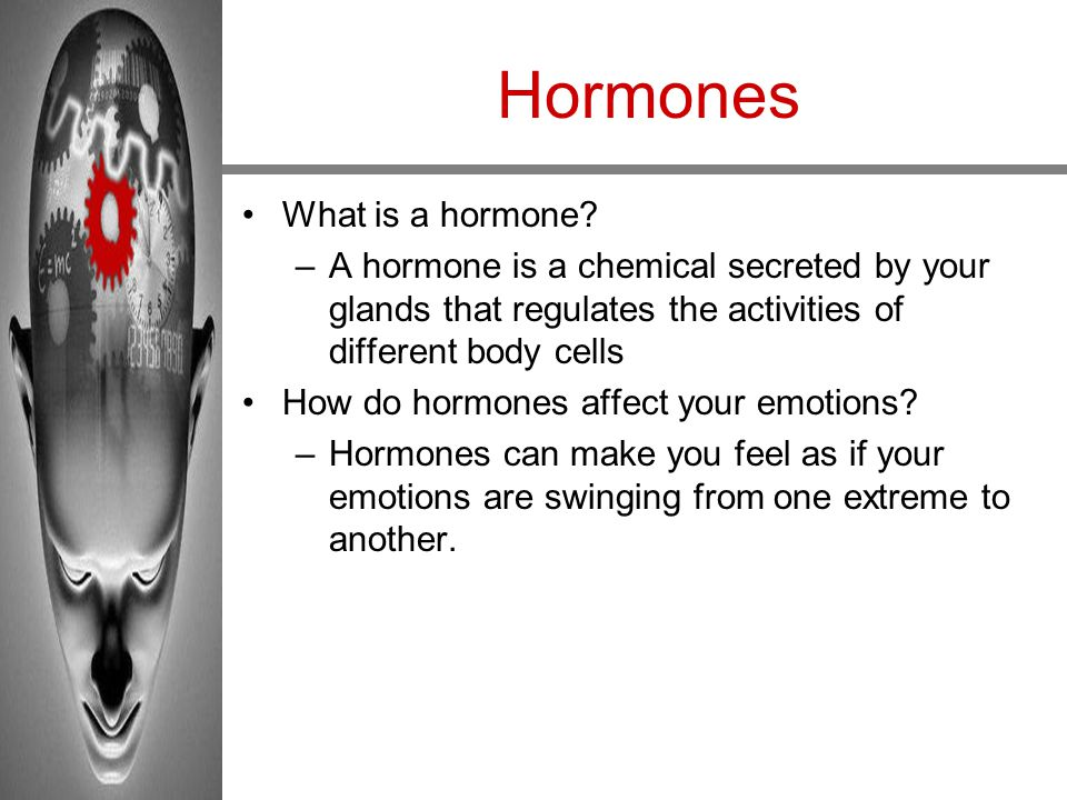 Hormones What is a hormone