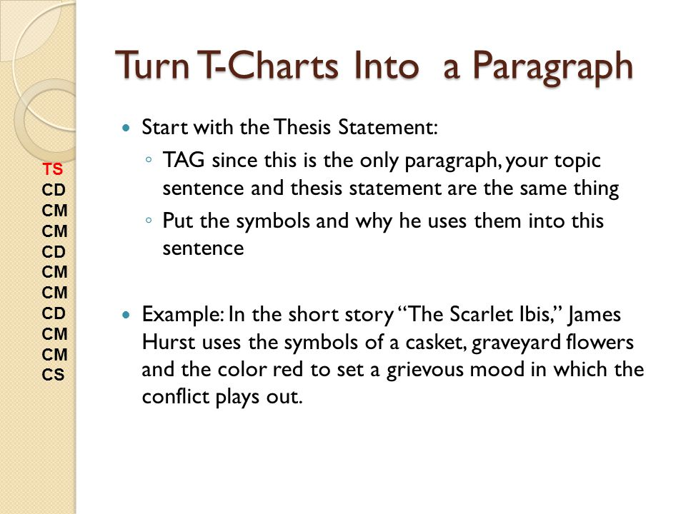 """thesis statements scarlet ibis Freebooksummarycom ✅ """"the scarlet ibis"""" symbolism analysis the story the  scarlet ibis, by james hurst, tells the story and relationship of two brothers and."""