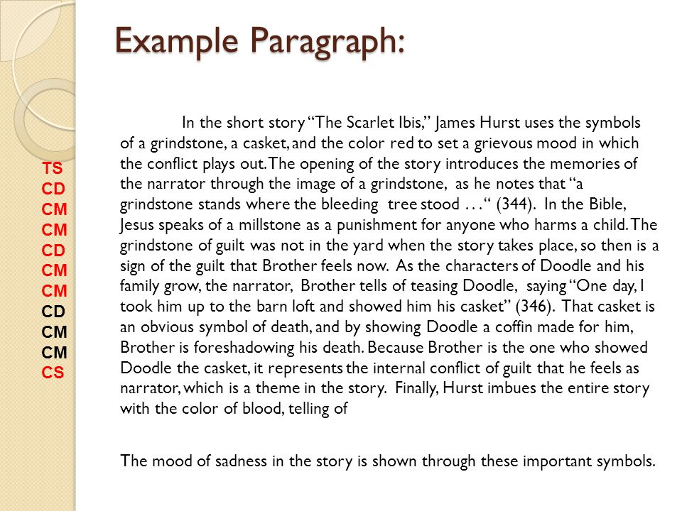 """scarlet ibis essay student essays summary Theme examination of """"the scarlet ibis"""" """"4 he that hath clean hands, and a pure  heart who hath not  disclaimer: this essay has been submitted by a student."""
