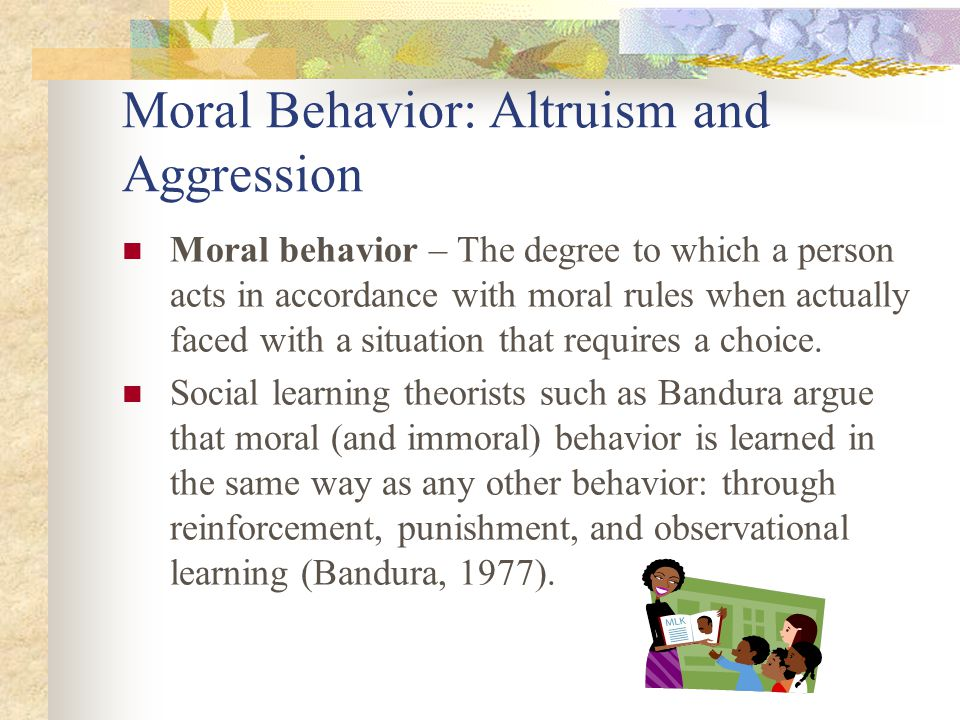altruism in preschool Prosocial behavior from early to middle childhood: genetic and environmental influences on stability and change ariel knafo the hebrew university of jerusalem.