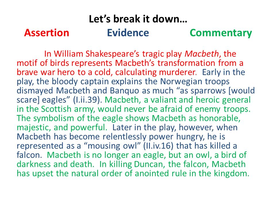 the deterioration of an honorable general in macbeth by william shakespeare We provide free model essays on shakespeare: macbeth, macbeth analysis reports, and term paper samples related to macbeth analysis  william shakespeare's.