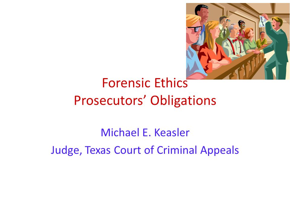 forensics and ethics Forensic science and ethics - free download as word doc (doc) or read online for free.