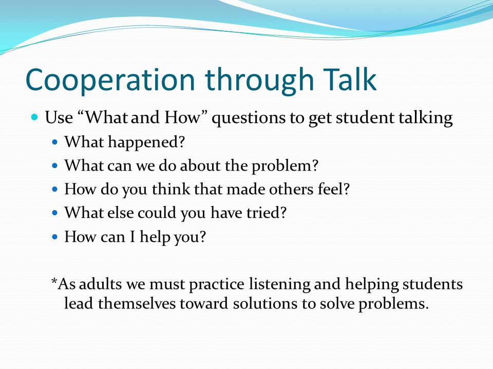 Cooperation through Talk