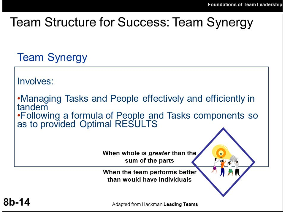 Team Structure for Success: Team Synergy
