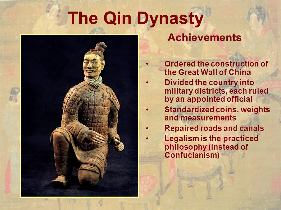 The Qin Dynasty Achievements