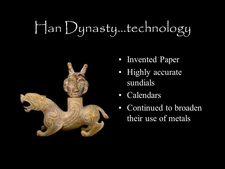 Attitudes Towards Technology: Han China and Roman Empire