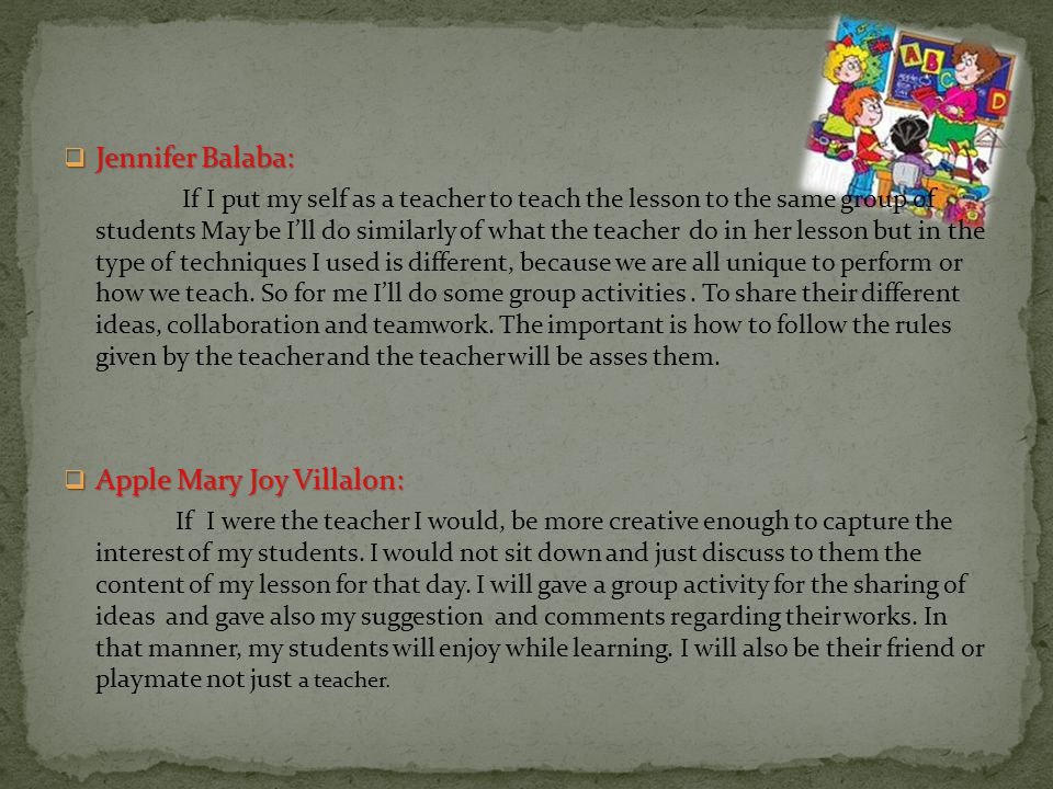 Apple Mary Joy Villalon: