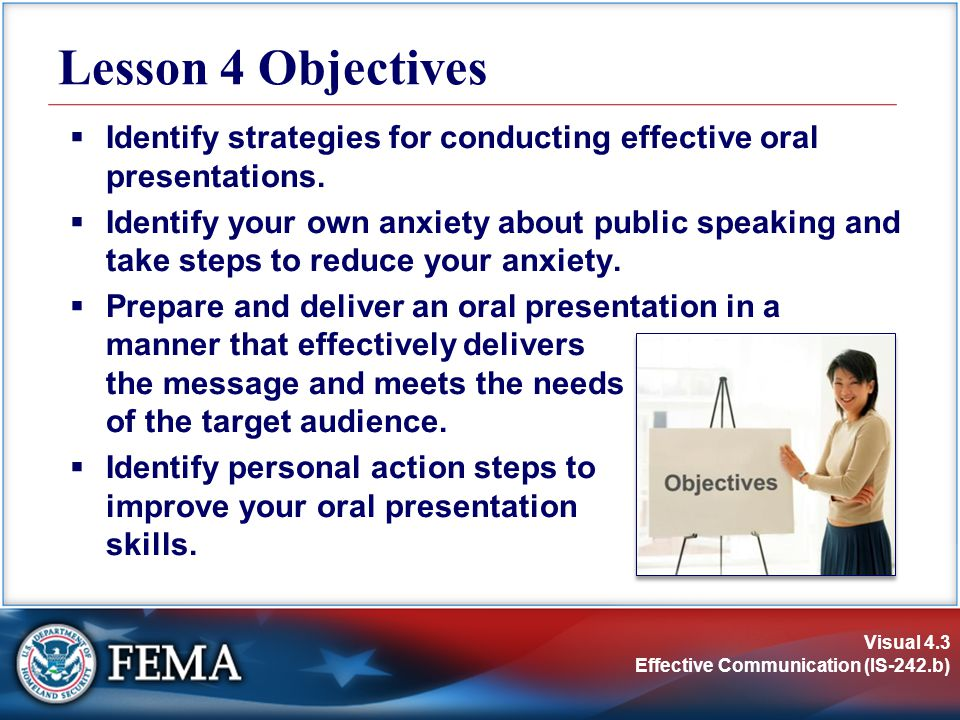 how to start oral presentation
