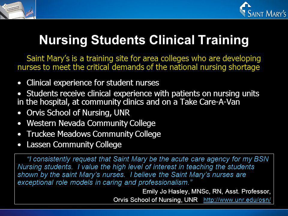Nursing Students Clinical Training