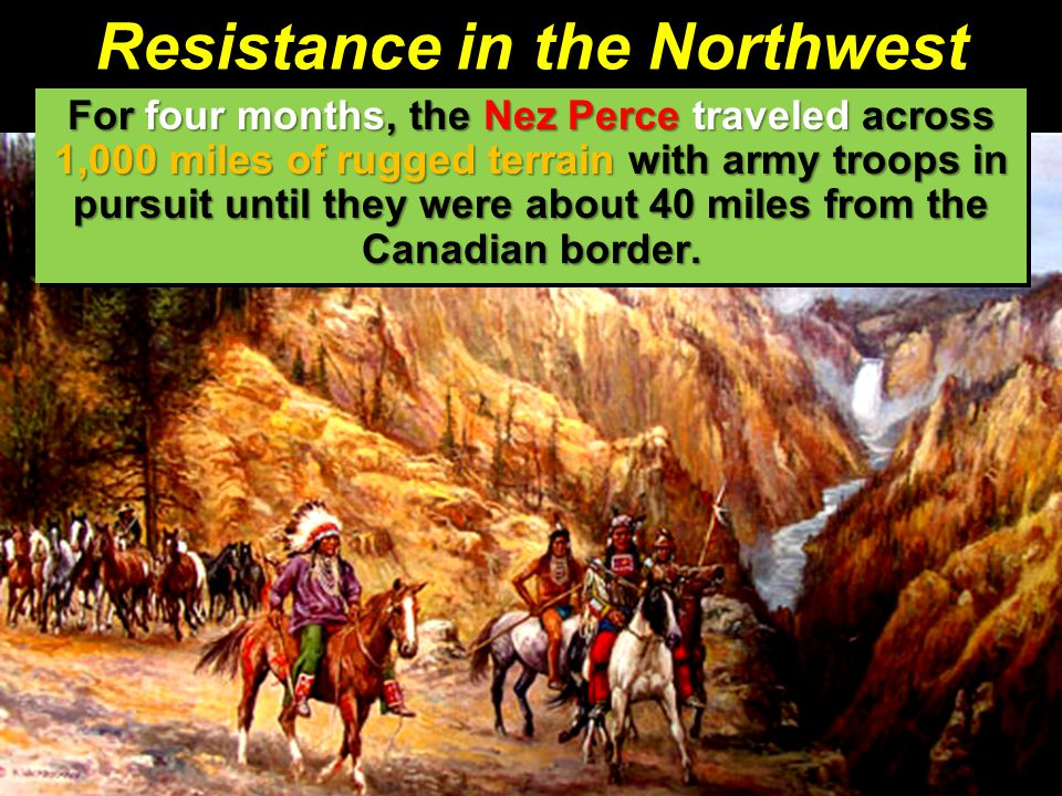 Resistance in the Northwest