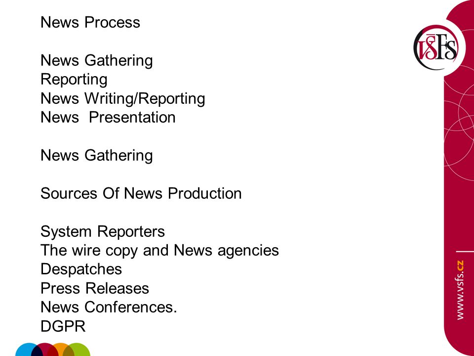 news writing and reporting ppt airport