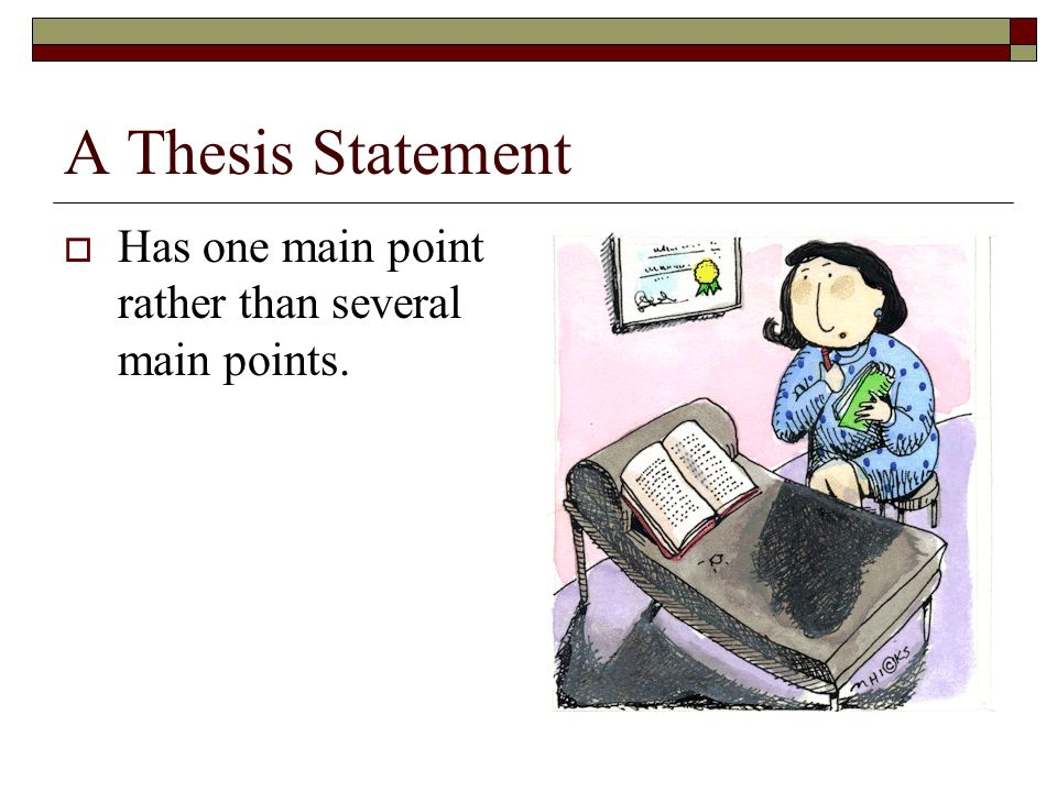 main point of a thesis statement Informative outline thesis statement and 3 main points  how to write a thesis statement for a speech - duration:  thesis statements:.