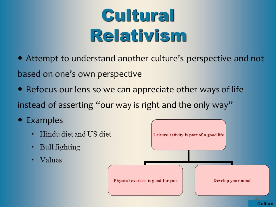 Understanding ones culture essay
