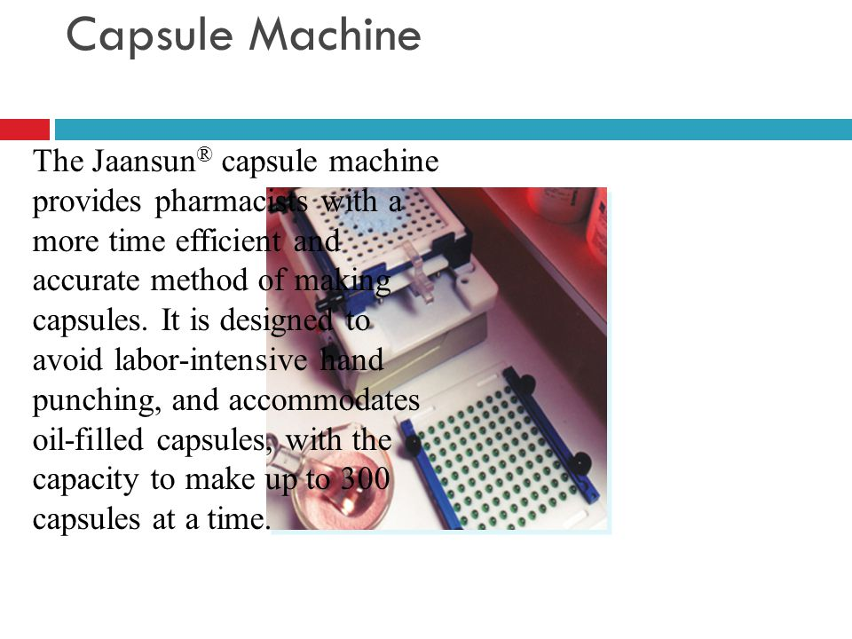 jaansun capsule machine