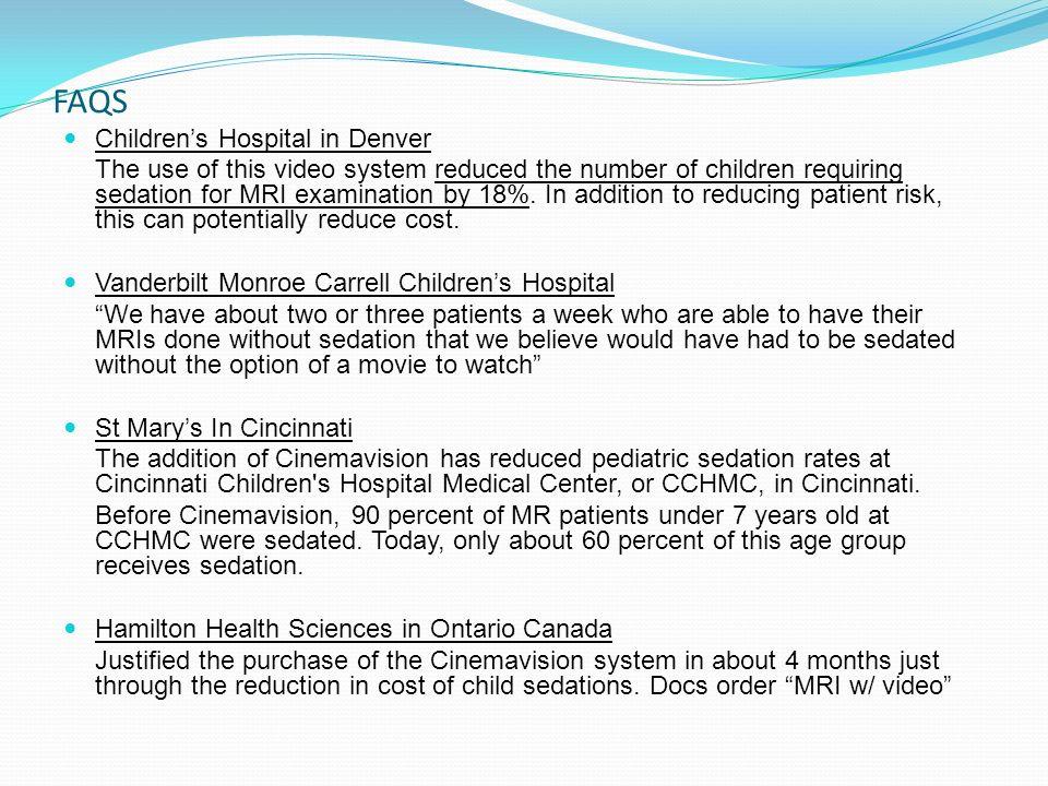 FAQS Children's Hospital in Denver