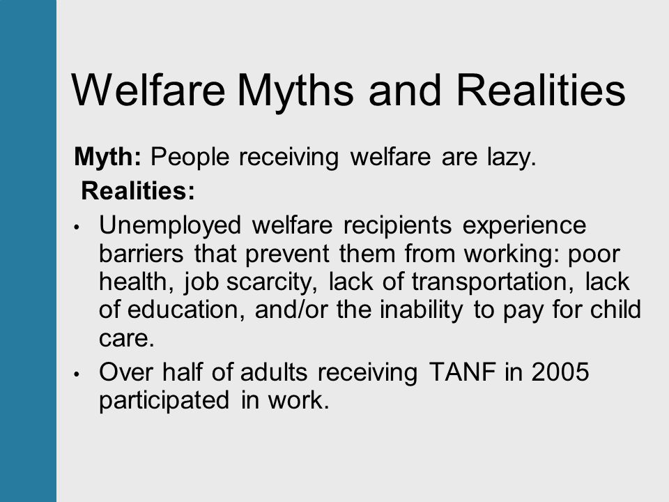 the misconceptions on welfare The nordic model (also called nordic capitalism or nordic social democracy)  refers to the economic and social policies common to the nordic countries ( denmark, finland, norway, iceland, the faroe islands and sweden) this  includes a comprehensive welfare state and collective bargaining at the   rasmussen addressed the american misconception that the nordic model is.