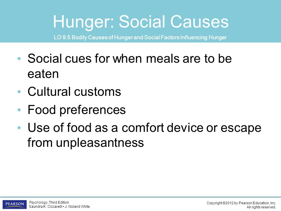 political factors cause of hunger Food insecurity and violent conflict: causes,  political, social, and demographic factors that may  hunger – which creates grievances – and the .