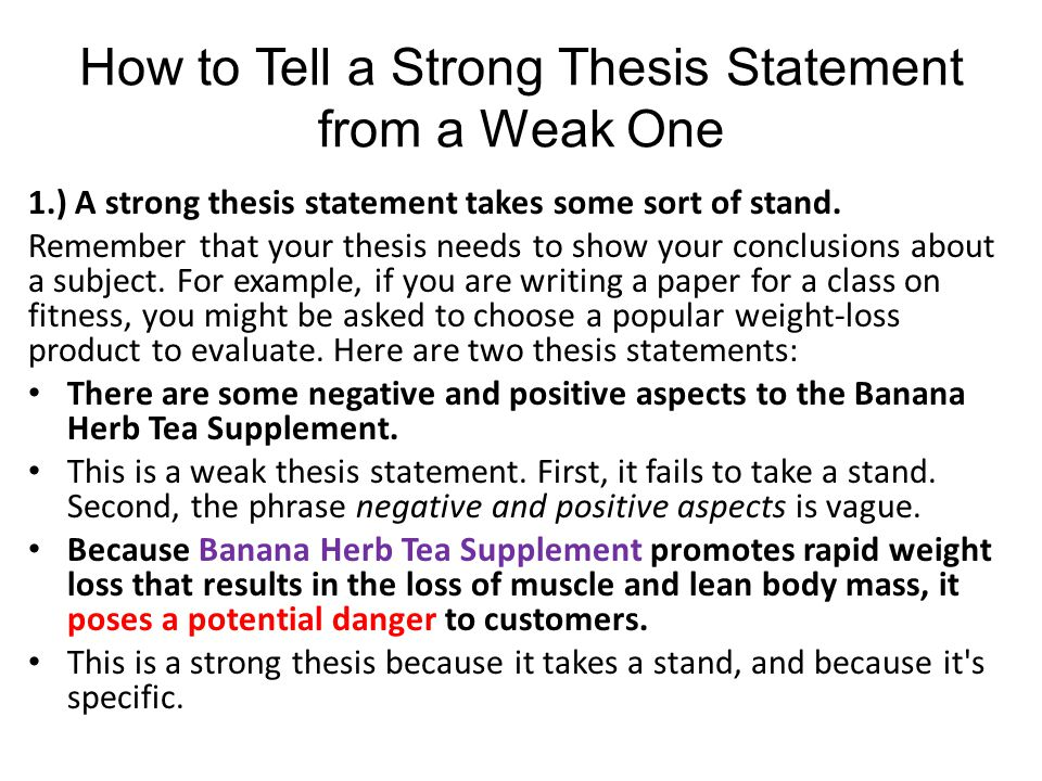 weak essay We have read wonderful essays on common topics and weak essays on highly  unusual ones your perspective – the lens through which you view your topic – is .