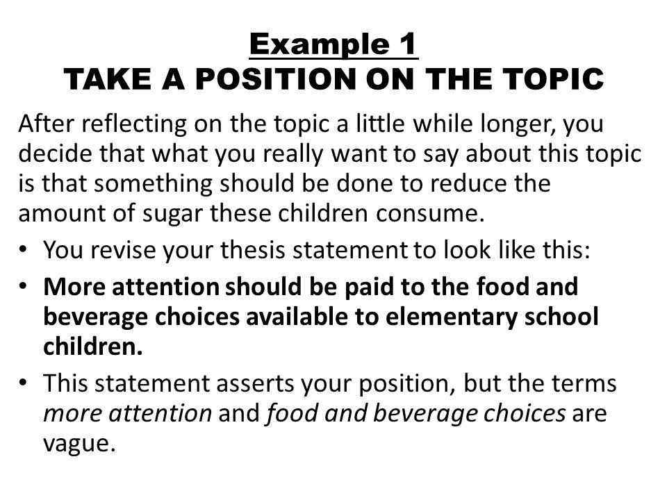 What is a thesis statement? - Quora