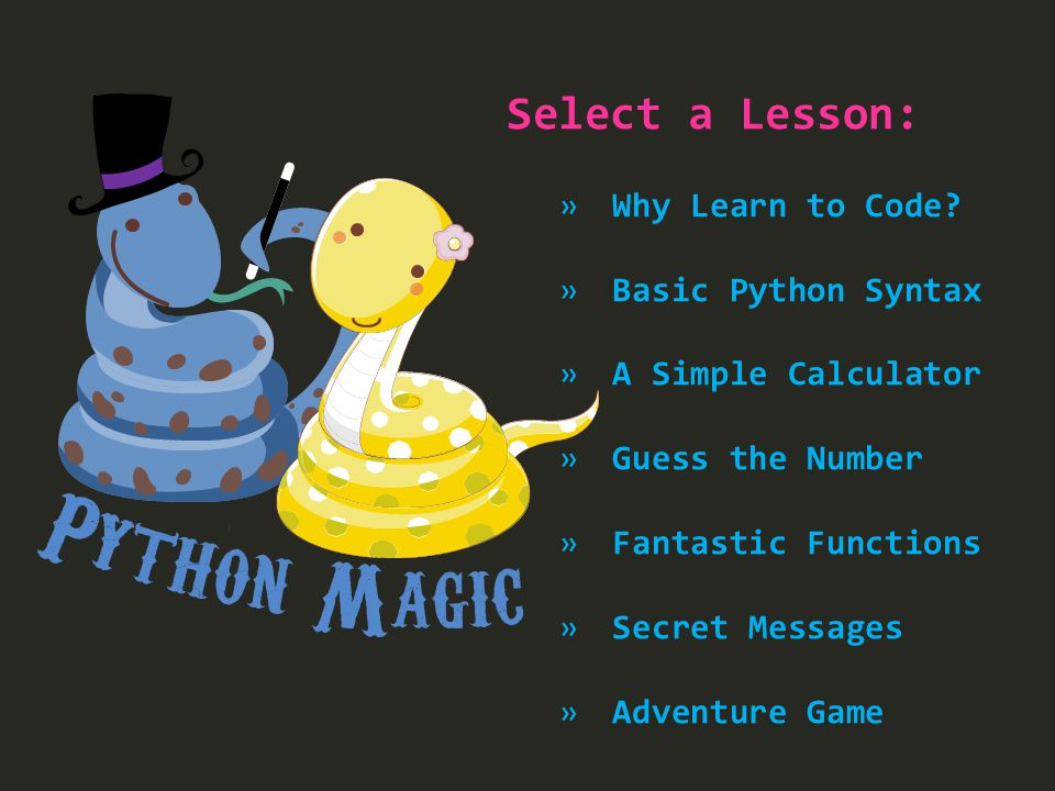 Python Code Examples
