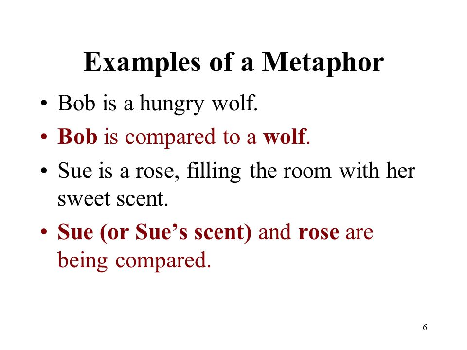 how to make metaphors in a rap