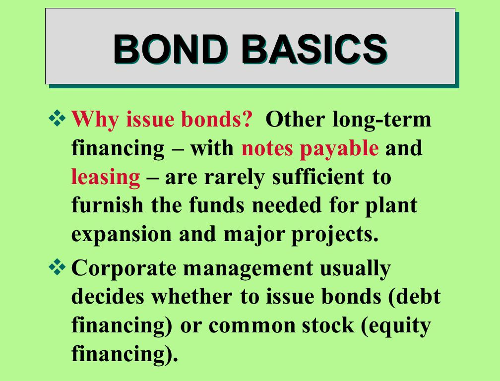 the advantages and disadvantages of bonds over common stock financing