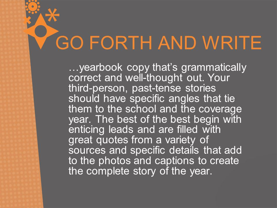90 High School Yearbook Article Ideas