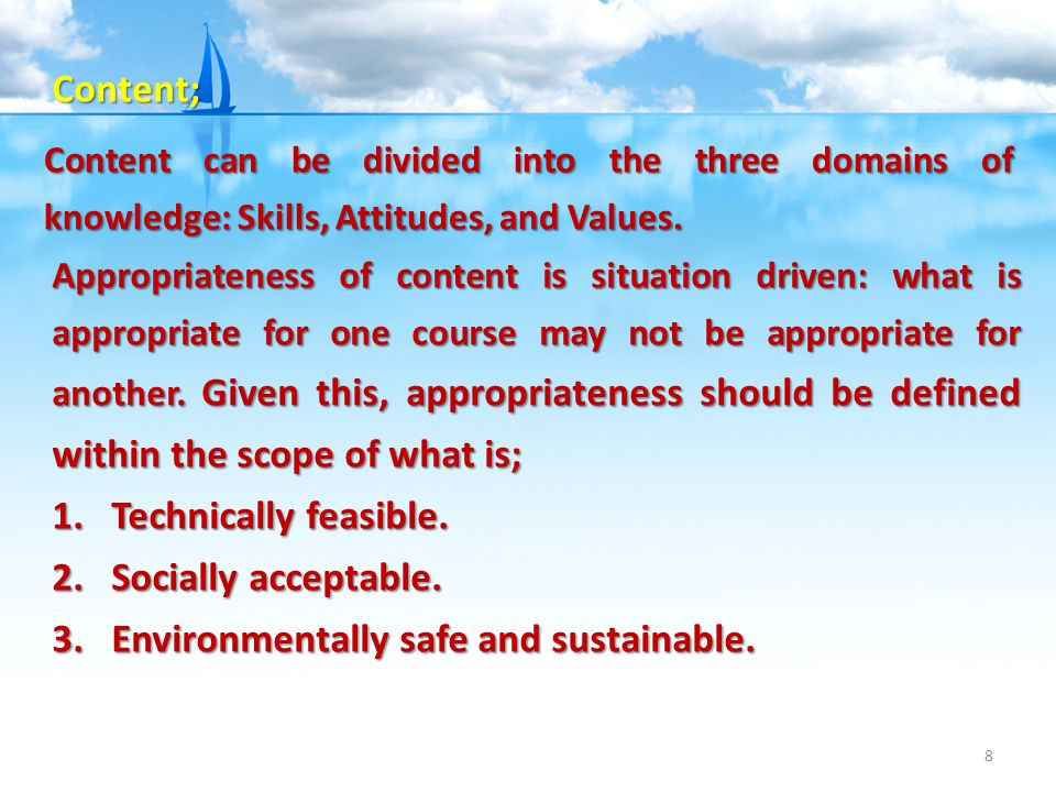 Environmentally safe and sustainable.