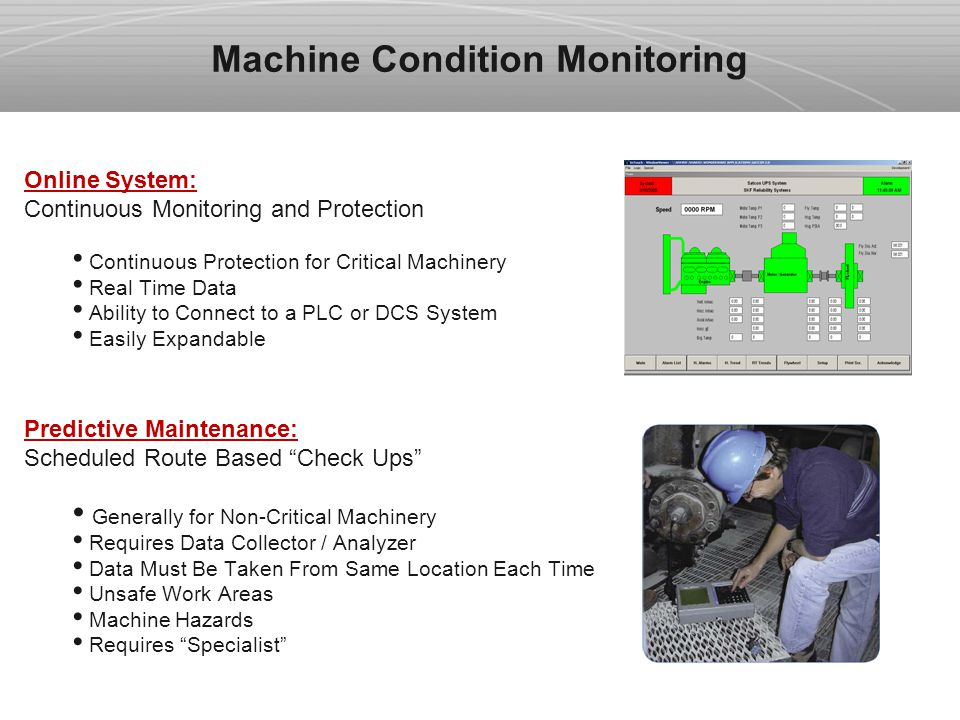 Vibration Monitoring System : Vibration monitoring and machine protection systems ppt