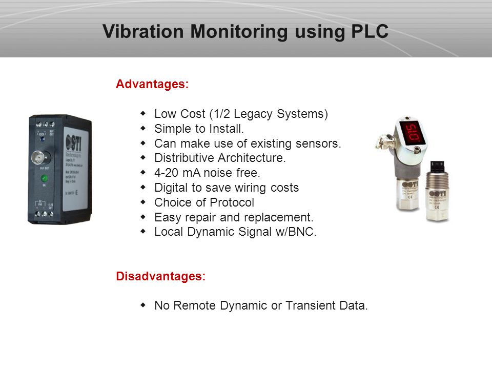 Advantages Of Internet Monitor System : Vibration monitoring and machine protection systems ppt