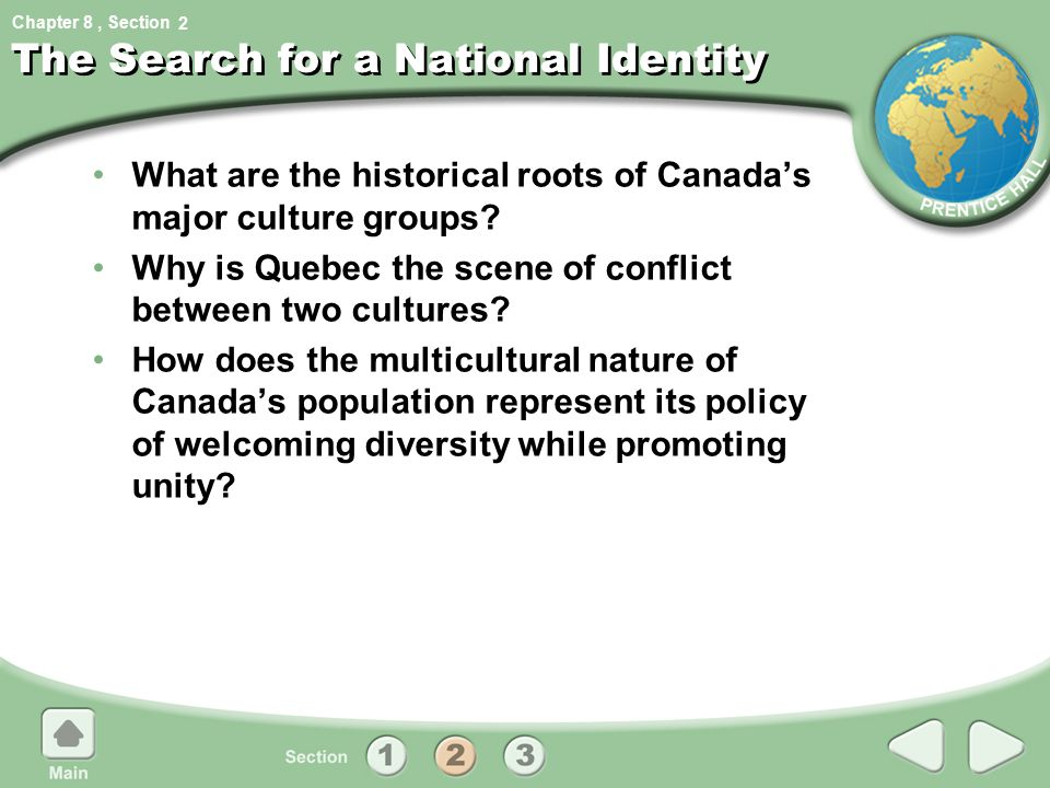 The Search for a National Identity