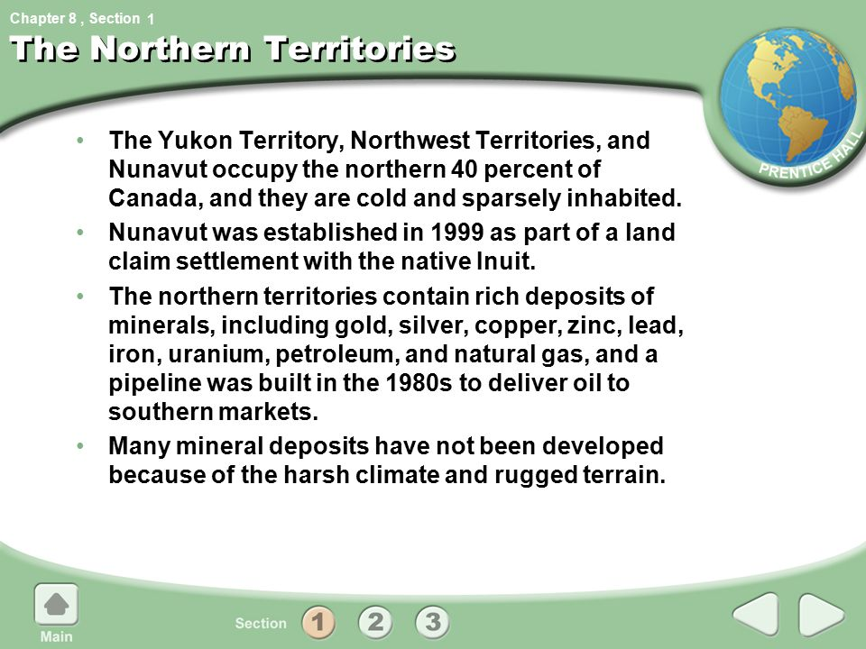 The Northern Territories