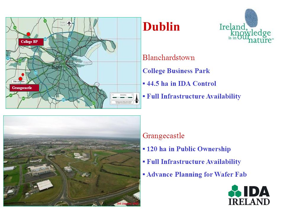 Dublin Blanchardstown Grangecastle College Business Park